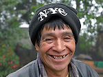 A man in San Jose la Frontera, a small Mam-speaking Maya village in Comitancillo, Guatemala.