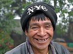 A man in San Jose la Frontera, a small Mam-speaking Maya village in Comitancillo, Guatemala.
