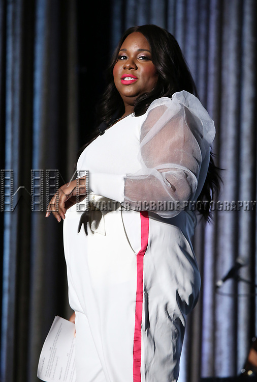 Alex Newell during the BroadwayCON 2020 First Look at the New York Hilton Midtown Hotel on January 24, 2020 in New York City.