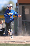 Western Nevada's Makaylee Jaussi runs against Salt Lake Community College at Edmonds Sports Complex in Carson City, Nev., on Friday, April 15, 2016. <br />Photo by Cathleen Allison