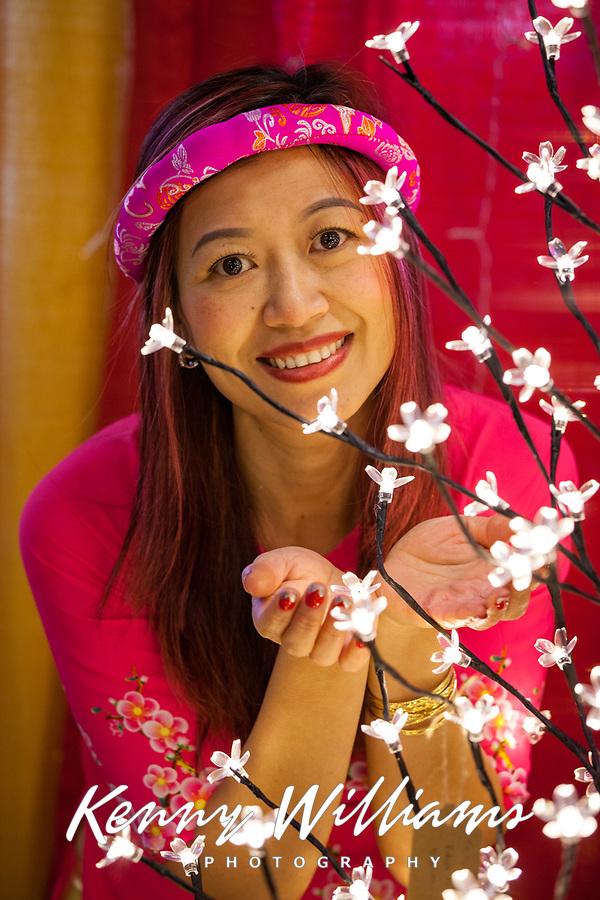 Mydieu Gang, Tet In Seattle,  Vietnamese New Year Festival 2019, Seattle Center, WA, USA.