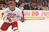 Clayton Keller (BU - 19) - The Harvard University Crimson defeated the Boston University Terriers 6-3 (EN) to win the 2017 Beanpot on Monday, February 13, 2017, at TD Garden in Boston, Massachusetts.