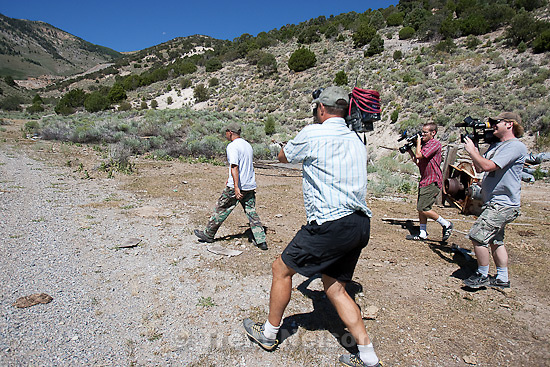 Trent Nelson  |  The Salt Lake Tribune.Investigators from the West Valley City police department search abandoned mine shafts in the Ward Mining District south of Ely, Nevada, on Friday August 19, 2011 as part of the investigation into the 2009 disappearance of Susan Powell,