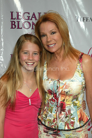Kathie Lee Gifford & her daughter Cassidy Erin Gifford pictured at the arrivals for the Opening Night Performance of LEGALLY BLONDE - The Musical at the Palace Theatre in New York City. April 29, 2007 © Joseph Marzullo / MediaPunch