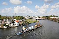 Nederland Zaandam 2016 . Beroepsvaart op de Zaan. Foto Berlinda van Dam / Hollandse hoogte