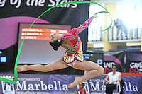 Anna Gurbanova of Azerbaijan performs  at 2010 Grand Prix Marbella at San Pedro Alcantara, Spain on May 15, 2010. Anna placed 13th AA at Marbella 2010. (Photo by Tom Theobald).