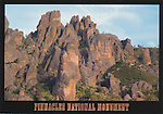 Pinnacles National Park, 4x6 postcard, High Peaks, PNM-S33