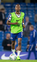 Charly MUSONDA of Chelsea warms up during the Carabao Cup (Football League cup) 23rd round match between Chelsea and Nottingham Forest at Stamford Bridge, London, England on 20 September 2017. Photo by Andy Rowland.