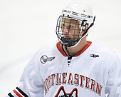 Josh Manson (Northeastern - 3) - The visiting St. Francis Xavier University X-Men defeated the Northeastern University Huskies 8-5 on Sunday, October 2, 2011, at Matthews Arena in Boston, Massachusetts.