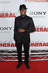 """HOLLYWOOD, CA. - April 12: Rapper Ne-Yo arrives to the """"Death At A Funeral"""" Los Angeles Premiere at Pacific's Cinerama Dome on April 12, 2010 in Hollywood, California."""