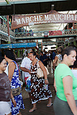 FRENCH POLYNESIA, Tahiti. The Municipal Market in Papeete.