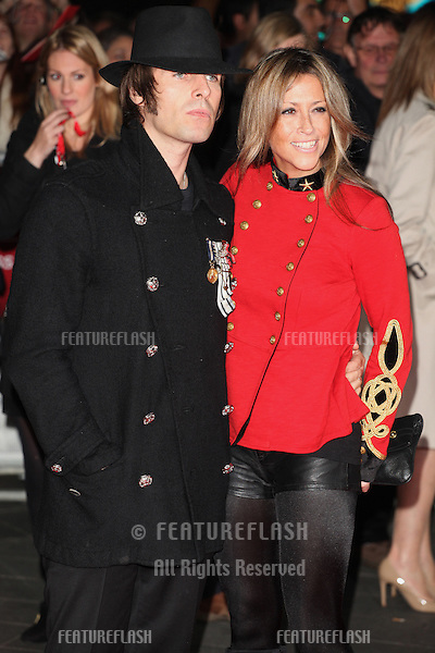 Nicole Appleton and Liam Gallagher arriving the Premiere of 'Crossfire Hurricane' during the 56th BFI London Film Festival at Odeon Leicester Square, London. 18/10/2012 Picture by: Alexandra Glen / Featureflash