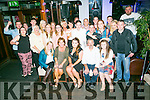 Tara Higgins, Kerins Park Tralee, celebrates her 21st Birthday with family and friends at the Abbey Inn on Friday
