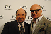 Georges Kern and Jason Alexander attends the IWC Timeless Portofino Event on December 3, 2014 (Photos by Getner Fabe/Guest Of A Guest)