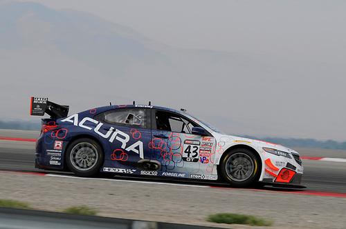 21-23 August, 2015, Tooele, Utah, USA<br /> #43 Ryan Eversley, Acura TLX-GT<br /> © 2015, Jay Bonvouloir, ESCP