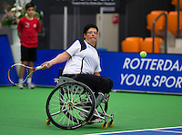 December 16, 2014, Rotterdam, Topsport Centrum, Lotto NK Tennis, Kitty Schulpen (NED)<br /> Photo: Tennisimages/Henk Koster