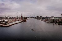 Dronebilleder fra københavns havn optaget ved Enghave Brygge, Sluseholmen, H.C. Ørstedsværket, Islands Brygge, Nokken og det sydlige af havnen.Foto: Jens Panduro