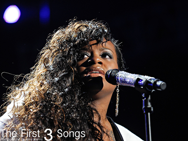 Fantasia (real name Fantasia Barrino) performs at the 2012 Essence Music Festival on July 8, 2012 in New Orleans, Louisiana at the Louisiana Superdome.