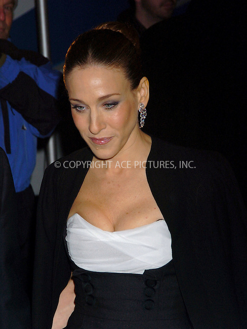 "WWW.ACEPIXS.COM . . . . .  ....NEW YORK, DECEMBER 4, 2005....Sarah Jessica Parker at The World Premiere Of ""The Producers""....Please byline: AJ Sokalner - ACEPIXS.COM.... *** ***..Ace Pictures, Inc:  ..Philip Vaughan (212) 243-8787 or (646) 769 0430..e-mail: info@acepixs.com..web: http://www.acepixs.com"