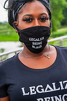 Black Lives Matter protests and speeches.