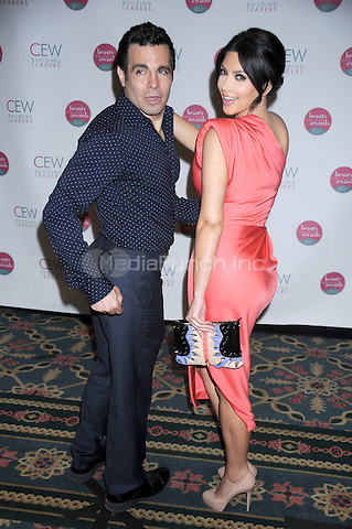 Mario Cantone and Kim Kardashian at the 2010 Cosmetic Executive Women Beauty Awards at The Waldorf=Astoria in New York City. May 21, 2010.Credit: Dennis Van Tine/MediaPunch