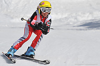 PERISHER VALLEY, AUSTRALIA, 13 September 2008 - Kathryn Parker competing at the Australian Interschools Snowsports Championships held at Perisher Valley, NSW on 13 September 2008. Photo by Sydney Low / AsteriskImages.com