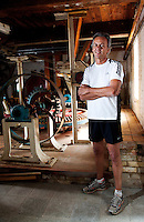 19 APR 2011 - BIGGLESWADE, GBR - Keen runner Bill Jordan, co founder of Jordan's Cereals, in the old mill where the business first started (PHOTO (C) NIGEL FARROW)