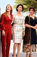 www.acepixs.com<br /> <br /> May 17 2017, Cannes<br /> <br /> Jessica Chastain, Fan Bingbing and Agnes Jaoui at a photocall for Jury members during the 70th annual Cannes Film Festival at Palais des Festivals on May 17, 2017 in Cannes, France.<br /> <br /> By Line: Famous/ACE Pictures<br /> <br /> <br /> ACE Pictures Inc<br /> Tel: 6467670430<br /> Email: info@acepixs.com<br /> www.acepixs.com