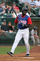 Rochester Red Wings Rondell White during an International League game at Frontier Field on July 4, 2006 in Rochester, New York.  (Mike Janes/Four Seam Images)