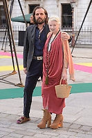Vivienne Westwood &amp; husband Andreas Kronthaler at the Royal Academy of Arts Summer Exhibition 2015 at the Royal Academy, London. <br /> June 3, 2015  London, UK<br /> Picture: Dave Norton / Featureflash