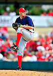 10 March 2010: Washington Nationals' pitcher Jason Bergmann on the mound during a Spring Training game against the St. Louis Cardinals at Roger Dean Stadium in Jupiter, Florida. The Cardinals defeated the Nationals 6-4 in Grapefruit League action. Mandatory Credit: Ed Wolfstein Photo