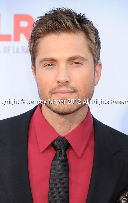 PASADENA, CA - SEPTEMBER 16: Eric Winter  arrives at the 2012 NCLR ALMA Awards at Pasadena Civic Auditorium on September 16, 2012 in Pasadena, California.
