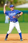 6 March 2006: Andy LaRoche, infielder for the Los Angeles Dodgers, prior to a Spring Training game against the Washington Nationals. The Nationals and Dodgers played to a scoreless tie at Holeman Stadium, in Vero Beach Florida...Mandatory Photo Credit: Ed Wolfstein..