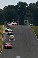 IMSA Continental Tire SportsCar Challenge<br /> Biscuitville Grand Prix<br /> Virginia International Raceway, Alton, VA USA<br /> Saturday 26 August 2017<br /> 44, Nissan, Altima, ST, Sarah Cattaneo, Owen Trinkler, 84, BMW, BMW 328i, James Clay, Tyler Cooke<br /> World Copyright: Scott R LePage<br /> LAT Images