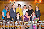 Enjoying a girls night were friends from Abbeyfeale and surrounding villages, pictured here last Friday night in Leen's Hotel, Abbeyfeale. Pictured F l-r: Mary Flynn, Kati Flynn, Sheila O'Sullivan, Helena Sheehy. B l-r: Francis Hayes, Paula Dillon, Denise Galvin, Emma Batten, Mandy Bambury and Doreen Buckley.
