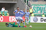 11.08.2019 , Schauinsland-Reisen Arena, Duisburg, DFB Pokal<br /> <br /> DFB REGULATIONS PROHIBIT ANY USE OF PHOTOGRAPHS AS IMAGE SEQUENCES AND/OR QUASI-VIDEO.<br /> <br /> im Bild / picture shows Daschner( MSV Duisburg #13 ).<br /> <br /> <br /> <br /> Foto © nordphoto / Freund