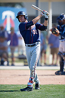 Minnesota Twins Matt Albanese (30) during a Minor League Spring Training game against the Tampa Bay Rays on March 15, 2018 at CenturyLink Sports Complex in Fort Myers, Florida.  (Mike Janes/Four Seam Images)
