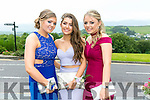 Enjoying the Colaiste Ide agus Iosef, Abbeyfeale  Debs at Ballyroe Heights Hotel on Tuesday were L-R  Francis Broderick, Lauryn McMahon and Erin O'Shea