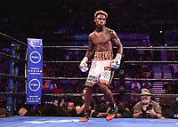 "LAS VEGAS - JUNE 23: Jermell Charlo at Fox Sports ""PBC on Fox Fight Night"" at Mandalay Bay Resort & Casino on June 23, 2019 in Las Vegas, Nevada. (Photo by Scott Kirkland/Fox/PictureGroup)"