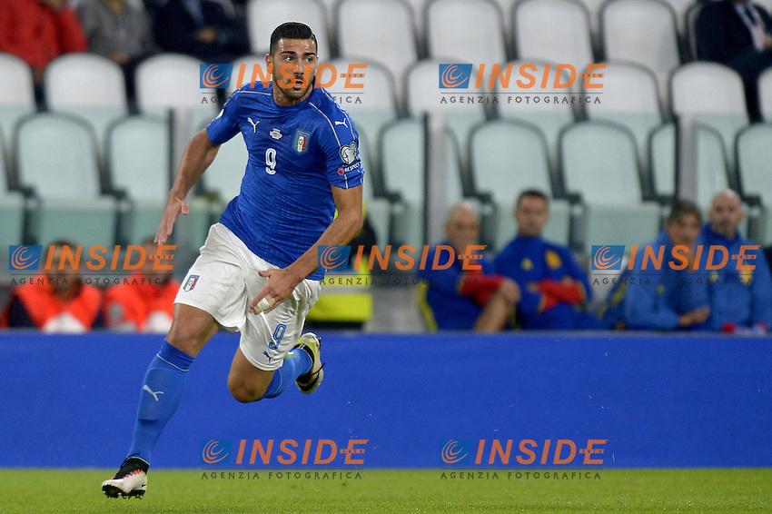 Graziano Pell&egrave; Italy,<br /> Torino 06-10-2016 Juventus Stadium <br /> World Cup Qualifiers Italy - Spain / Italia - Spagna. Foto Filippo Alfero / Insidefoto
