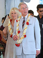 Prince Charles & Camilla visit the Jewish Synagogue in Cochin - India