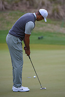Tiger Woods (USA) barely misses his birdie putt on 4 during day 4 of the WGC Dell Match Play, at the Austin Country Club, Austin, Texas, USA. 3/30/2019.<br /> Picture: Golffile | Ken Murray<br /> <br /> <br /> All photo usage must carry mandatory copyright credit (© Golffile | Ken Murray)