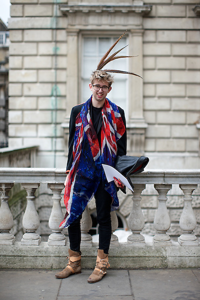 Joe Nickols at London Fashion Week