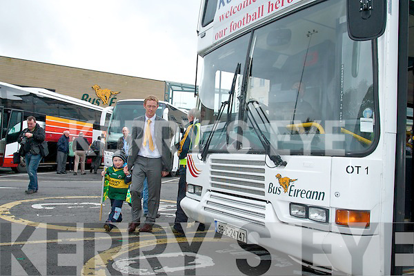 Colm Cooper and his nephew Liam.