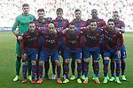 Levante UD's team photo during La Liga Second Division match. March 11,2017. (ALTERPHOTOS/Acero)