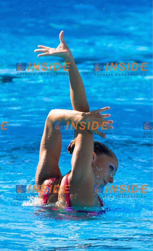 Roma 19th July 2009 - 13th Fina World Championships From 17th to 2nd August 2009..Technical Solo..Mengual Gemma ESP..photo: Roma2009.com/InsideFoto/SeaSee.com