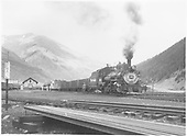 D&amp;RGW #463 with Silverton mixed in Silverton yard.<br /> D&amp;RGW  Silverton, CO