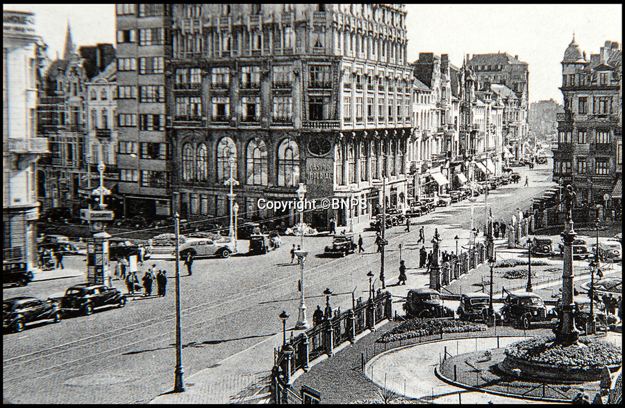BNPS.co.uk (01202 558833)<br /> Pic: BNPS<br /> <br /> The Imperial Casino, Ostend before it was damaged.<br /> <br /> Haunting photos which capture the trail of devastation left in the wake of the Dunkirk evacuation have been unearthed after 77 years.<br /> <br /> The poignant pictures were taken soon after 330,000 Allied troops had been rescued from the beaches by an armada of little ships having been defeated by the Germans.<br /> <br /> The epic operation is about to be the subject of the new Hollywood blockbuster movie 'Dunkirk' will stars Tom Hardy and Harry Styles and is die for release on July 21.<br /> <br /> The black and white snaps show German soldiers surveying the wreckage which included destroyed ships and large military trucks lying in the surf.<br /> <br /> They are being sold by Duke's Auctioneers.