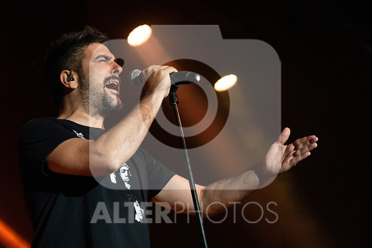 David Manuel Muñoz Calvo during the concert of VODAFONE YU MUSIC SHOWS<br /> ESTOPA. <br /> <br /> October 2, 2019. (ALTERPHOTOS/David Jar)
