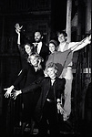 """Gregory Harrison, David Marshall Grant, Shanna Reed, Deborah Geffner, Sheree North with Gwen Verdon making her Television debut in """"Legs"""" an American made-for-television musical drama film at Radio City Music Hall on 9/03/1983 in New York City."""